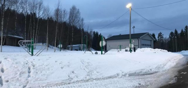 Lys for aktivitetsparken på Møylandsletta