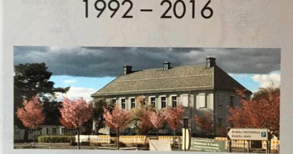 Andebu kommunes historie 1992-2016